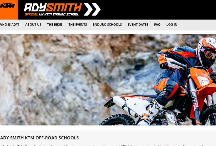 Ady Smith – Official UK KTM Off-Road School